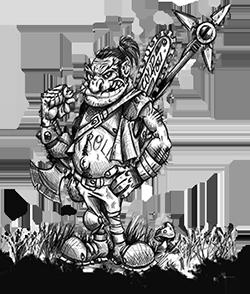 Arborix Troll des Bois